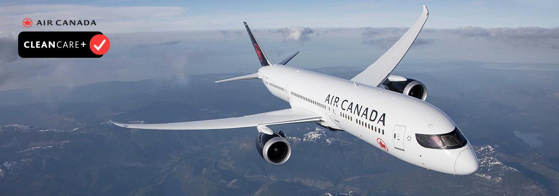 Air Canada Summer 2021 slider