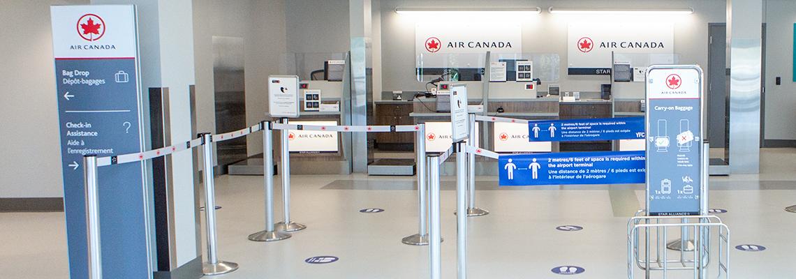 air canada counters