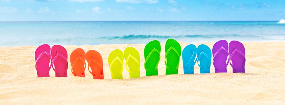 Marcher sur la plage